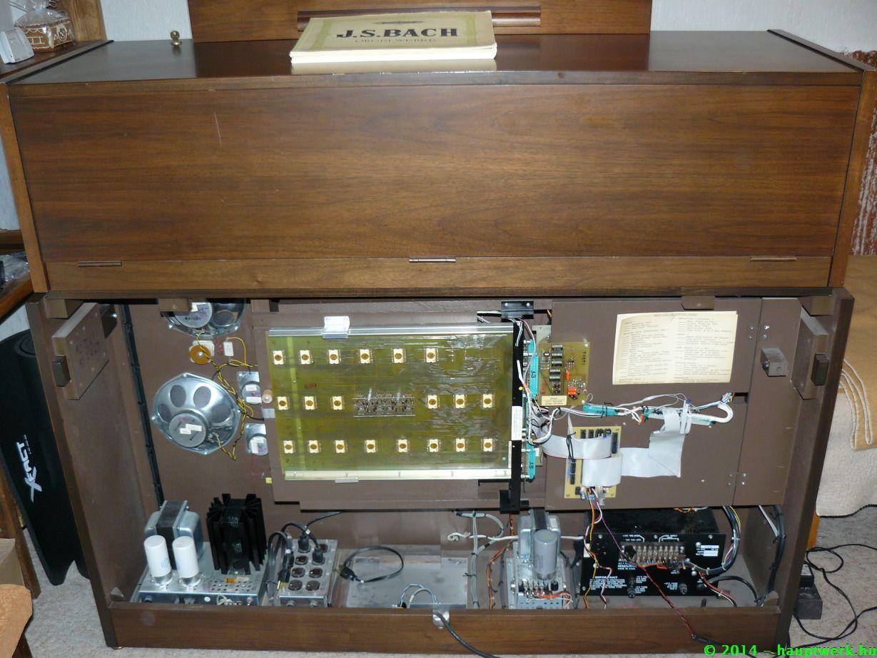 Egy régi Allen orgona midizése az OCC-1 segítségével